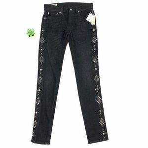 POLO RALPH LAUREN Studded Tompkins Skinny Jeans